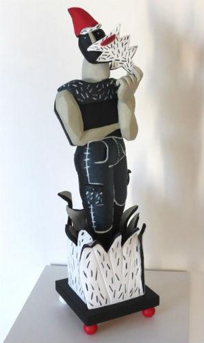 Art contemporain galerie sculptures de l 39 artiste philippe messager - Nain de jardin en terre cuite ...